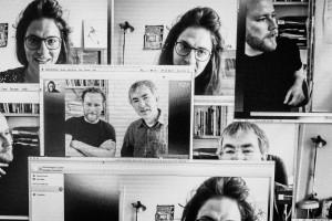 Saiten Gespraech mit Uli Alder, Hanspeter Spoerri und Karin Enzler