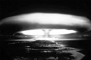 MURUROA NUCLEAR BOMB