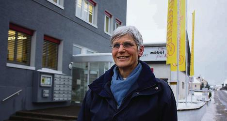 Motionärin Ex-Gemeindeammann Silvia Schwyter.
