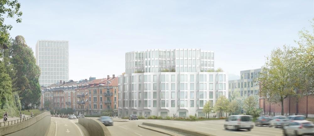 Für die «Stadtkrone» hätte die HRS die Villa Wiesental abreissen wollen - die Stadt sagte damals Nein dazu. (Bild: pd)