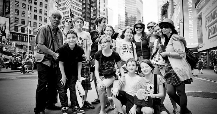 Erobern zusammen die Welt: die Swing Kids (Bild: pd)