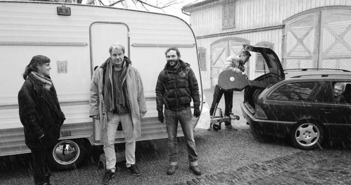 Die Picaro-Darsteller: Miriam Sutter, Hans Gysi und Adrian Strazza (von links).