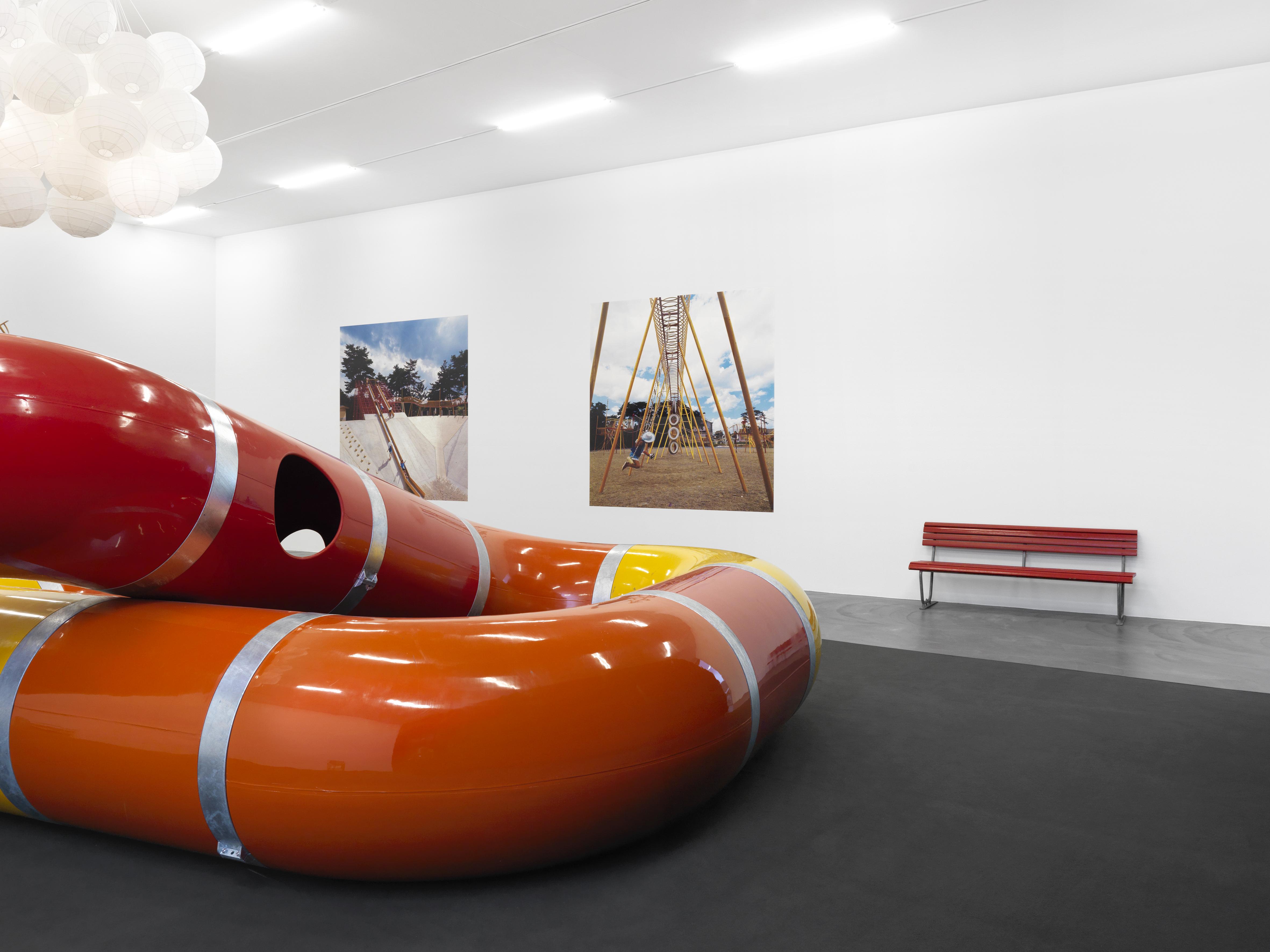 Installationsansicht: The Playground Project Kunsthalle Zürich 2016 Foto: Annik Wetter
