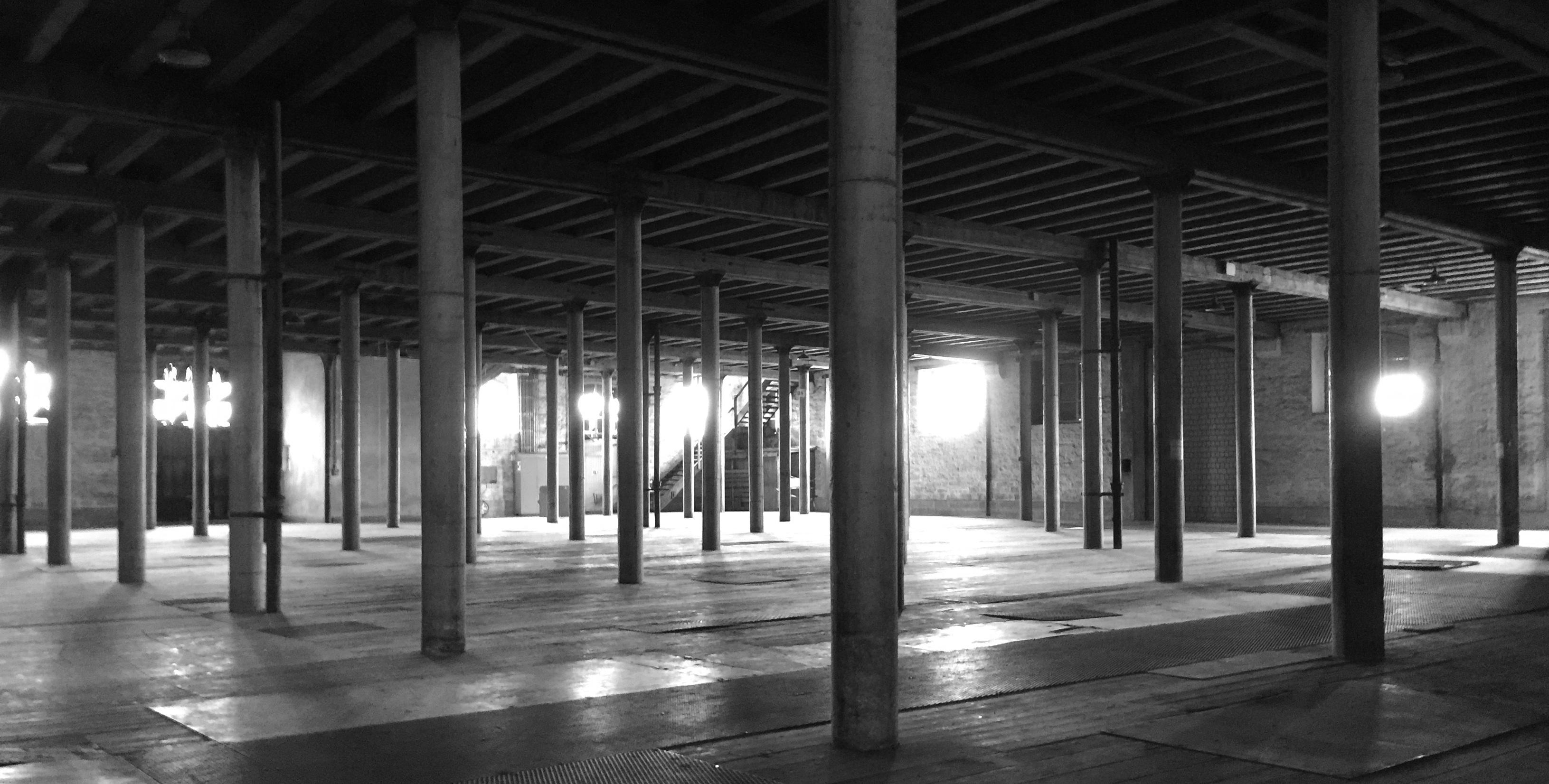 Der westliche Teil des Erdgeschosses im Kornhaus Romanshorn ist für eine Dépendance des Schweizer Spielmuseums vorgesehen. Bild: ho