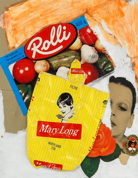Marylong, 1960, Collage