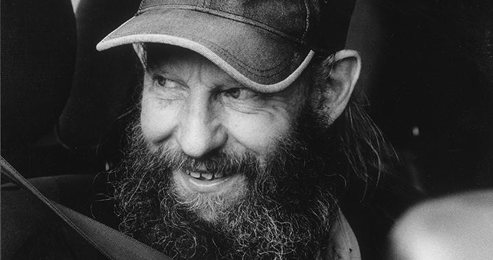 David Bürkler, porträtiert von Franziska Messner-Rast.