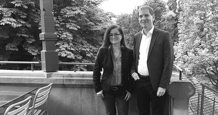 Maria Pappa und Peter Jans kandidieren beide für die Stadtratswahlen im Herbst. (Bild: René Hornung)