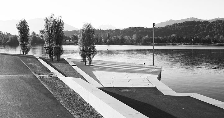Unter den Nominierten: die Seeufergestaltung in Schmerikon (Bild: zVg)