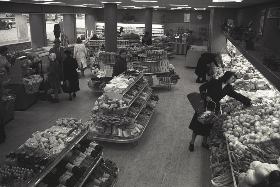 Eröffnung der Migros Wil, 1958
