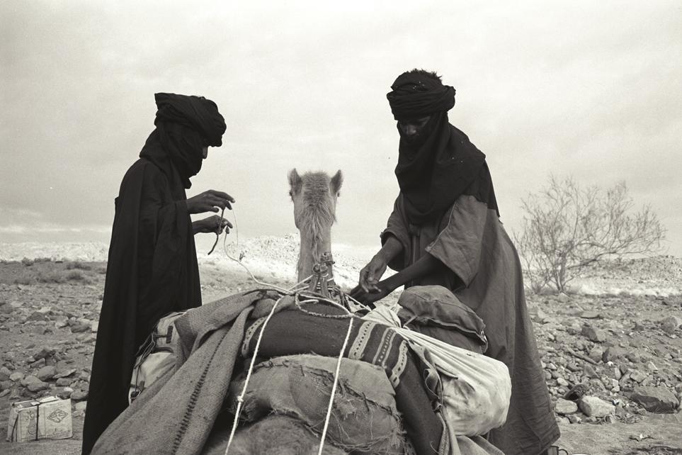 Marschvorbereitungen, Afghanistan, 1971