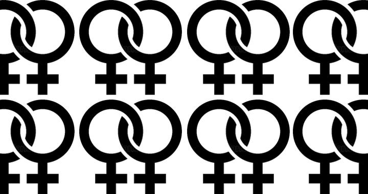 Schwarze Lesbierin dominiert Weiß