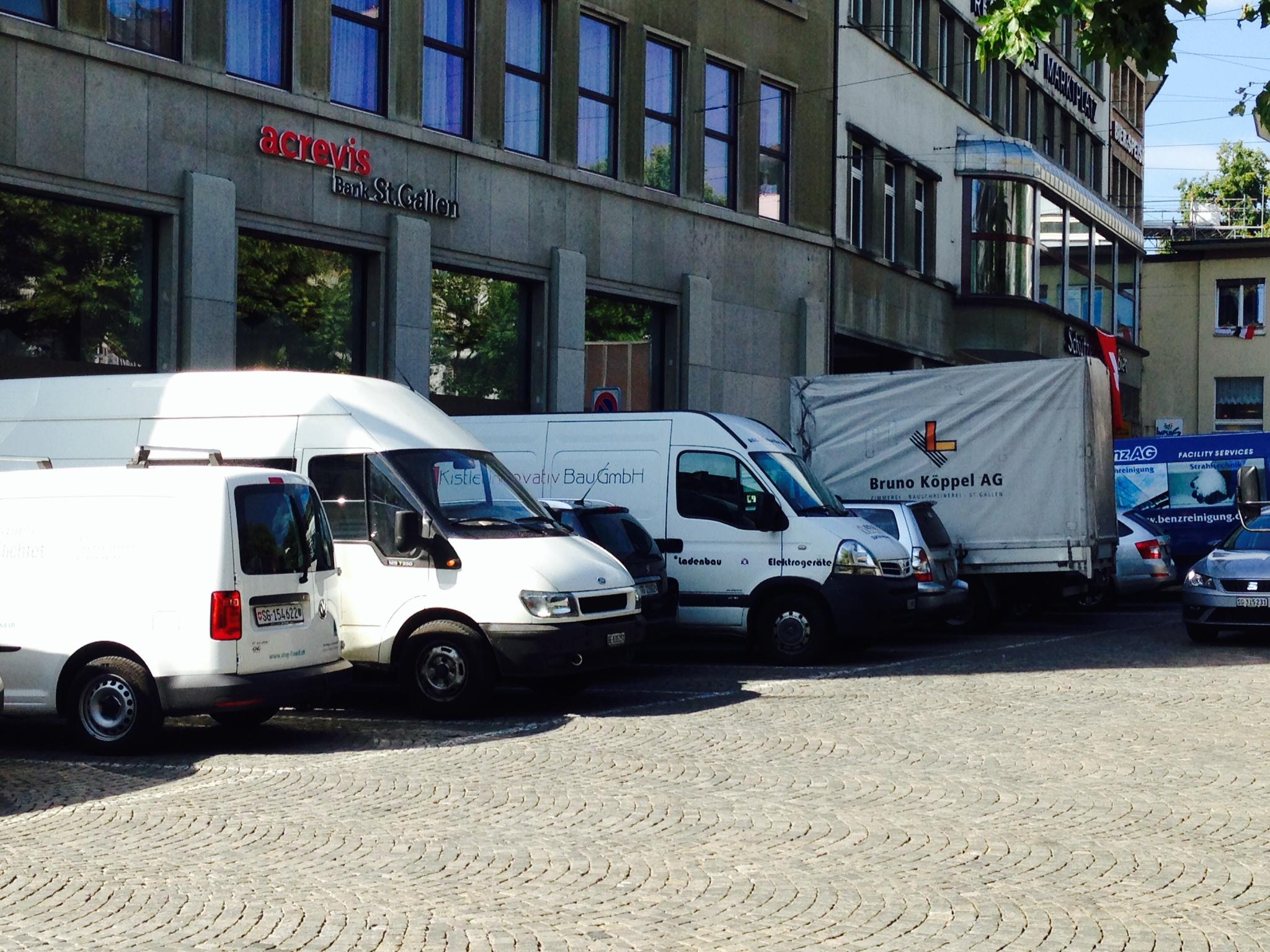 Links-grüne Aufräumarbeiten in St. Parkplatz – Saiten Ostschweizer ...